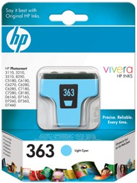 HP 363 [C8774E] light-cyan Tinte