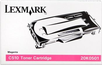 Lexmark [20K0501] magenta Toner