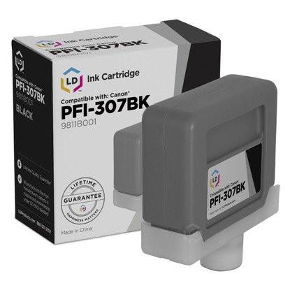 Canon PFI-307BK [9811B001] black Tinte