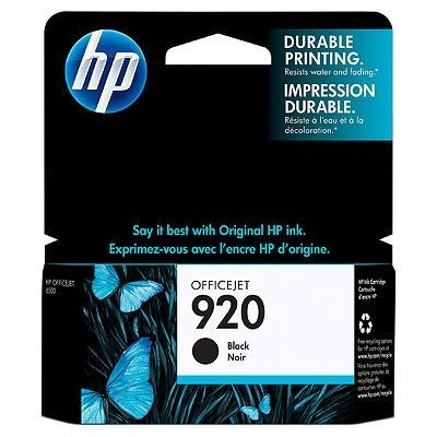 HP 920 [CD971A] black Tinte