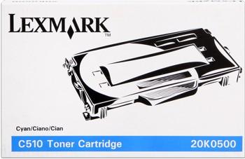Lexmark [20K0500] cyan Toner