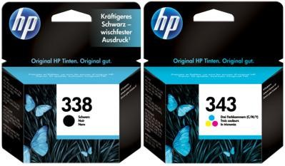 HP 338+343 [SD449E] MultiPack (C8765E+C8766E) black+color Tinte