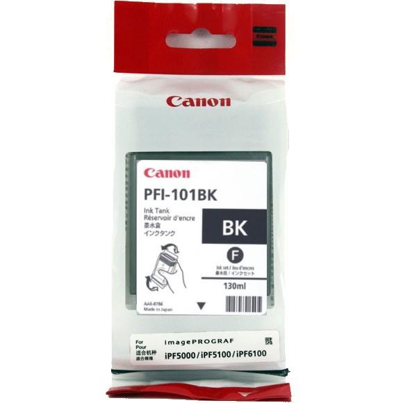 Canon PFI-101BK [0883B001] black Tinte