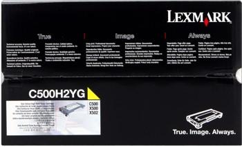 Lexmark [C500H2YG] yellow Toner