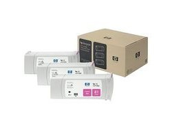 HP 81 [C5068A] 3er-Pack (3xC4932A) magenta Tinte
