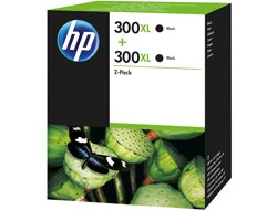 HP 300XL [D8J43A] HC TwinPack (2xCC641E) black Tinte