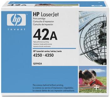 HP 42A [Q5942A] black Toner
