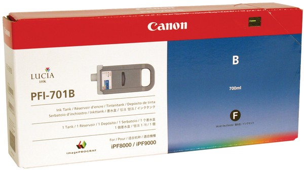 Canon PFI-701B [0908B005] HC blue Tinte