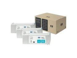 HP 81 [C5067A] 3er-Pack (3xC4931A) cyan Tinte