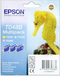 Epson T048B [C13T048B4010] MultiPack (T0485+T0486+T048x) light-cyan+light-magenta+light-yellow Tinte