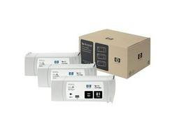 HP 81 [C5066A] 3er-Pack (3xC4930A) black Tinte