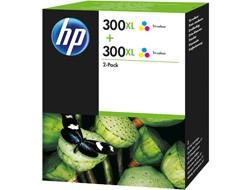 HP 300XL [D8J44A] HC TwinPack (2xCC644E) color Tinte