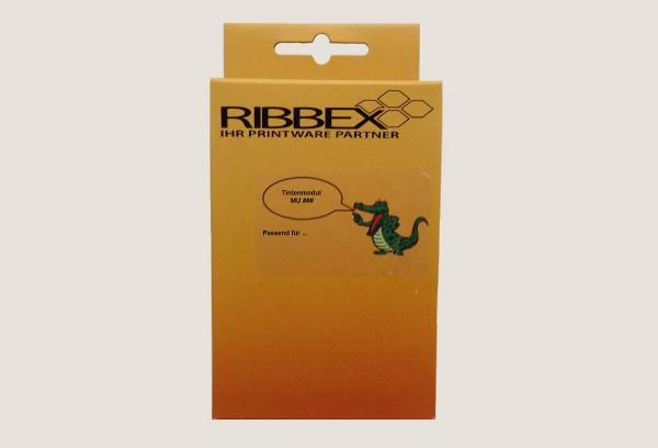 Ribbex Newbuilt zu HP 932XL [w.CN053A] HC black (27) Tinte