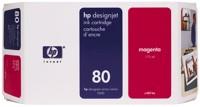 HP 80 [C4874A] magenta Tinte