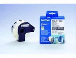 Etiketten f. Brother QL 570 [DK-11219] die-cut round label 12x12mm 1200 labels